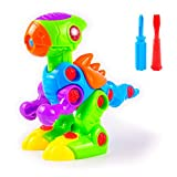 Best Outdoor Toys For 3 Year Olds - Dinosaur Take Apart Toy, an Educational, Easy Assemble Review