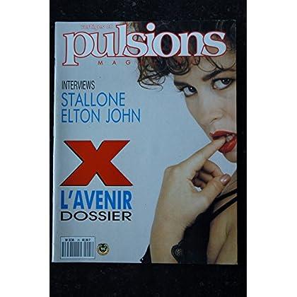 PULSIONS 25 ELTON JOHN STALLONE CHRISTINE BOISSON SEXY STARS EROTIC NUDES CHARME