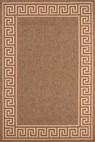 Preisvergleich Produktbild Lalee Teppich, 100% Polypropylen-BCF, kaffee / mais, 170 x 120 x 5 cm