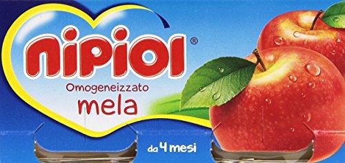 Nipiol Omogeneizzato Frutta, Mela - 24 Vasetti da 80 gr