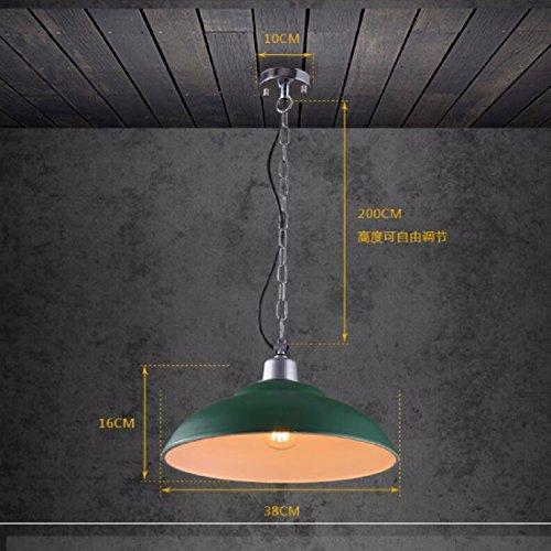 ZPSPZ Pendelleuchte Nordische Restaurant - Bar - Kronleuchter Moderne Einfachen Grünen Korridor Treppe Depot (Home Depot Pendelleuchte)
