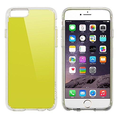 iPhone 6S Schutzhülle, luvvitt [Clearview] iPhone 6Schutzhülle [Hybrid klare Sicht Armor Serie] [Crystal Clear] Bumper Case mit Clear Rückwand–Retail Verpackung–Bumper Schutzhülle für iPhone 6– Clear / Neon Lime
