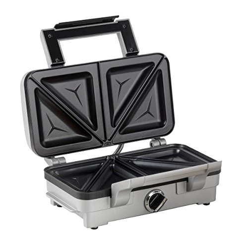 Cuisinart 2 in 1 Sandwich and Waffle Maker Comes with Two Sets of Plates