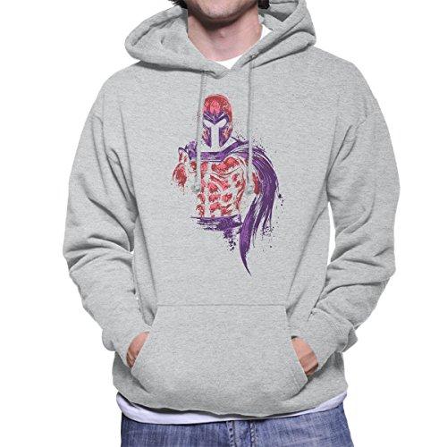 X Men Magnetic Warrior Magneto Men's Hooded Sweatshirt