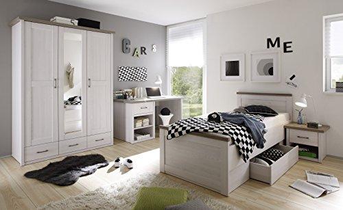 AVANTI-TRENDSTORE-Comodino-in-imitazione-di-pino-bianco-ca45x45x40cm