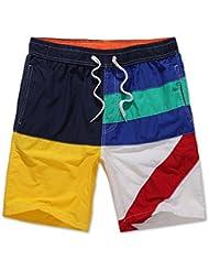 PZLL Ralph Lauren European viento elegantes pantalones de playa, los hombres rectos cortos , l