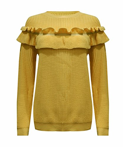 Sugerdiva - Sweat-shirt - Femme moutarde
