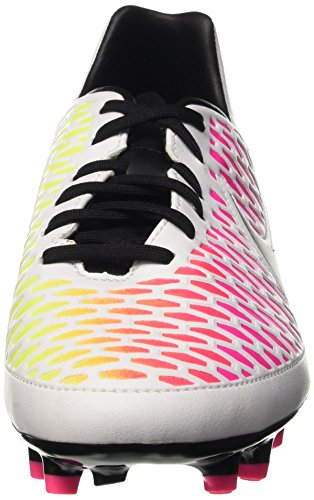 Nike Magista Onda Fg, Entraînement de football homme Multicolore (White/Black/Pink Blast/Volt)