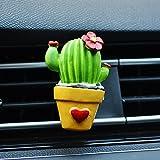 HSDDA creative cactus clip auto uscita profumo auto profumo cartella auto aria condizionata profumo
