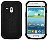 G-Shield Hülle für Samsung Galaxy S3 Mini Stoßfest Schutzhülle (I8190) - Schwarz
