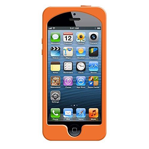 Gizmon GZ-ICA5S06 Soft iCA Camera Shape Silikon Case für Apple iPhone 5 orange orange