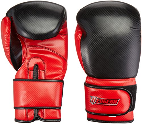 Revgear Boxhandschuhe Pinnacle, schwarz/red, 16 oz -