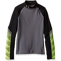 Under Armour Cg Mock-Camiseta de protección térmica para hombre grafito, FR: XS (talla fabricante: YXS)