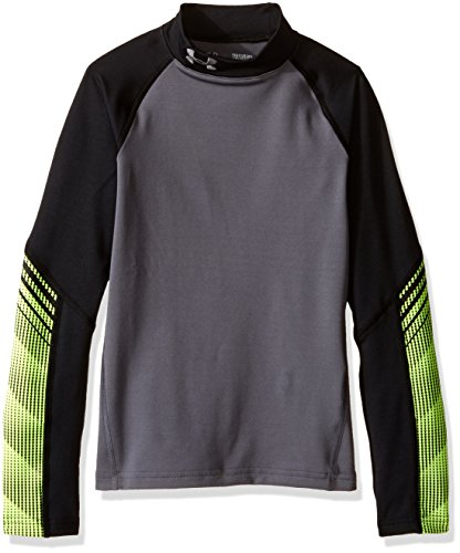 155237931704 6. Under Armour Jungen Armour Up Cg Mock Fitness-Sweatshirts, Graphit, YM