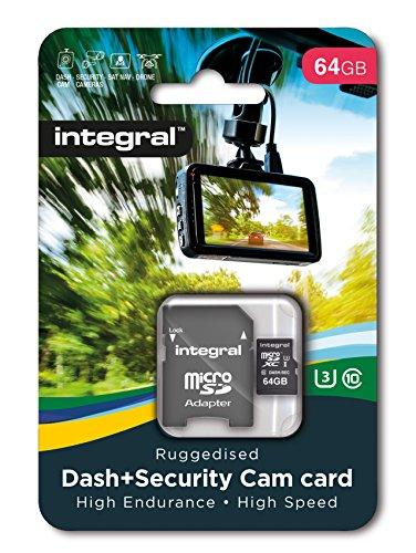 Integral 64GB micro SD card for dashcam High Endurance microSDHC memory card