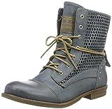 Mustang Damen 1157-542-875 Combat Boots, Blau (875 Sky), 40 EU