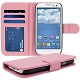kwmobile Wallet Case Hülle für > Samsung Galaxy S3 / S3 Neo < - Cover Flip Tasche mit Kartenfach in Pink