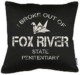 Touchlines Merchandise Fox River Kissen mit Füllung 40x40cm
