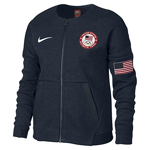 Nike Kids Fleece (Nike Girl's Tech Fleece Team USA Big Kids' Jacket 826871 473)