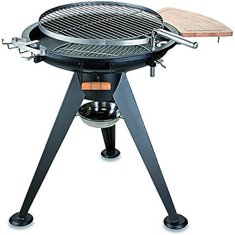 Kemper Barbecue Rotondo a Carbone, Uso Professionale