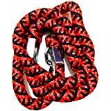 MeraPuppy Heavy Duty Rope Leash For Big & Large Dogs - *Color & pattern may vary