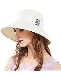 44393cc57 Amazon.co.uk: White - Sun Hats / Hats & Caps: Clothing