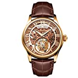Men's MO0123 Auspicious Series Rose Gold Tourbillon Watch