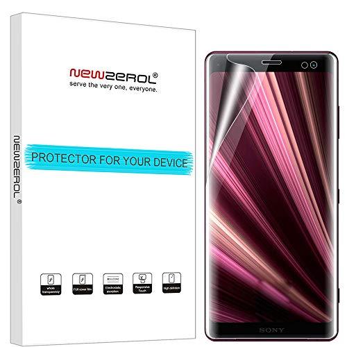 NEWZEROL [4 Pack] Ersatz für Xperia XZ3 Schutzfolie,Liquid Skin [volle Abdeckung] Kratzfest, Anti-Fingerabdruck-[Lebenslange Ersatzgarantie]