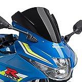 Racingscheibe Puig Suzuki GSX-R 125 17-18 schwarz