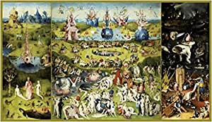 Posters: Hieronymus Bosch Poster Art Print - The Garden Of Earthly Delights (57 x 32 inches)