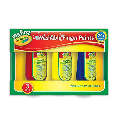My First Crayola / Mini Kids 3 X waschbare Fingerfarbe