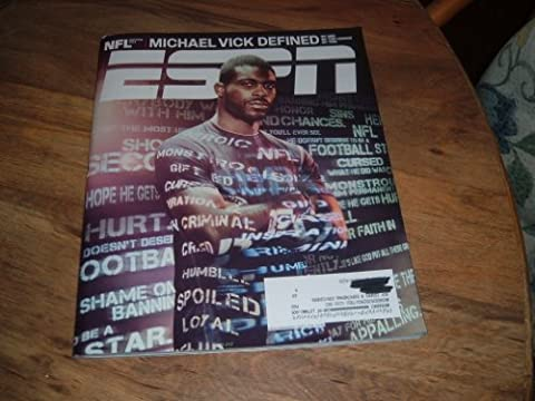 ESPN Magazine (September 5, 2011) Michael Vick Defined Special Cover Issue; NFL 2011 Preview