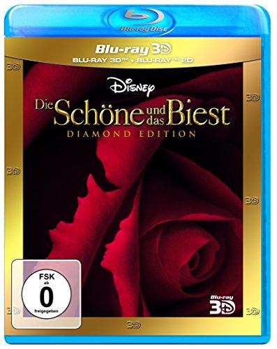 Blu-ray Diamond (Die Schöne und das Biest Diamond Edition 3D + 2D [3D Blu-ray])