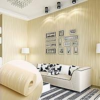 KINLO® Vliestapete Tapete Modern 3D 50x0.53m(26.5m) Tapete Barock Beige
