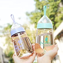 K&C lindo de los niños BPA botella de agua libre de 14 oz (color al azar)