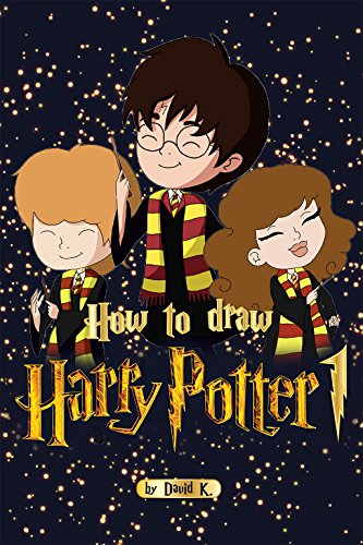 How to Draw Harry Potter 1: The Step-by-Step Harry Potter Drawing Book (English Edition)