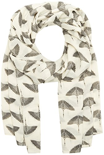 PIECES Damen Schal Pcnala Long Scarf, Mehrfarbig (Whitecap Gray), One Size