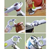 Navisha 7 in 1 Multifunctional Bottle + Can + Jar Opener Very Useful