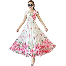 Vastra Fashion Women's Fit And Flare Dress - Vf01 Rose_Free Size