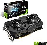 ASUS NVIDIA GeForce GTX 1660 DUAL OC 6G EVO Gaming Grafikkarte (PCIe 3.0, 6GB DDR6 Speicher, HDMI, Displayport)