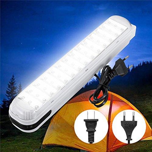 DADEQISH Tragbare Notlampe 42 LED-Arbeits-Lichter energiesparende hängende Camping-Lampe im Freien AC110-220V Außenleuchten (Color : Plug US plug)