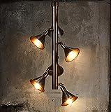 cdbl-Plafonniers Vent industriel Cafetière Salle à manger Rétro lustre Lampes de modélisme personnalisées à la corne lustre