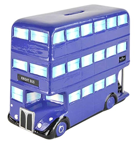 Harry Potter Knight Bus Ceramic Money Box