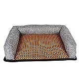 Fun-diamond Sommer Welpen Kühlmatte Isomatte Bett Exquisite Verarbeitung Komfortable Anti-Slip Atmungs Hund für Haustiere