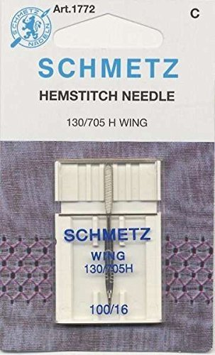 Schmetz Hemstitch/Wing Machine Needles Size 16/100