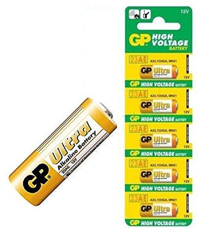ArcEin GP Ultra 23AE 12V Alkaline Battery  Pack of 5