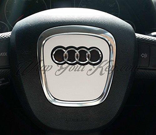 Bianco Satinato Airbag Volante, S RS A1A3, A4, A5, A6, A8TT Q3Q5Q7