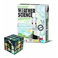 Belair Gallery Create Your Own Weather Science Experiments - Educational Toys - With FREE Magic Sealife Cube - Gift Present For Christmas Xmas Stocking Filler Birthdays Toys Games Children Girls Boys