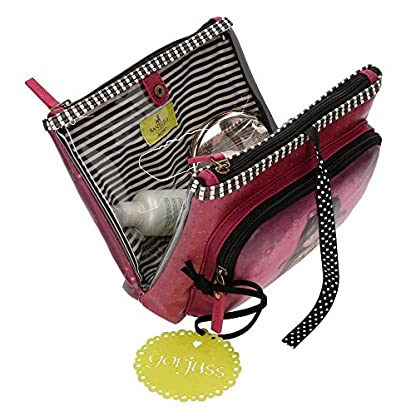 51eInuFbv L. SS416  - Santoro Gorjuss Heartfelt Beauty Case 3 Cremalleras Make Up Bag Bolsos Neceser Vanity Estuche