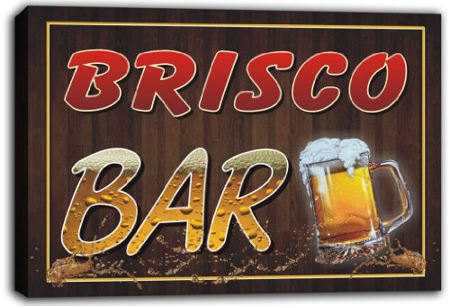 scw3-009819-brisco-name-home-bar-pub-beer-stretched-canvas-print-sign